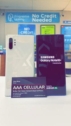 Samsung Galaxy Note 10 Plus 256gb Factory Unlocked - Like New! (30 Days Warranty) for Sale in Arlington,  TX
