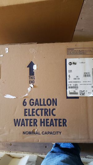 Rheem 6 gallon water heater for Sale in Scottsdale, AZ