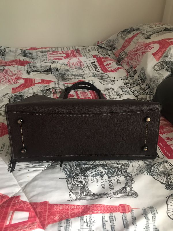 Authentic Coach Charlie Carryall purse