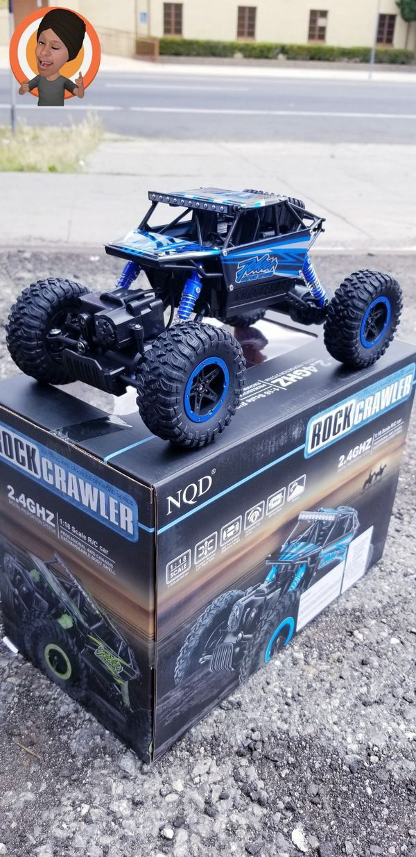 Rc car Rock Crawler. Read Description Below