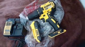 Drill Brussless 1/2 and charger and battery new for Sale in Charlotte, NC