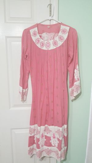 Pink and white Pakistani shalwar kameez for Sale in Alexandria, VA