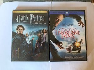 Harry Potter and The Goblet of Fire. Also - A series of Unfortunate Events for Sale in New York, NY