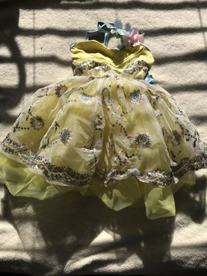 Custom made sequined ballet costume for girls, 6/7 for Sale in Staten Island, NY