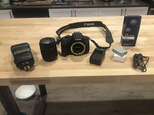 Pending: Canon EOS Rebel T5i for Sale in Seattle, WA