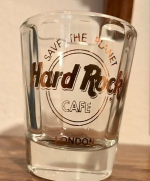 Hard Rock Cafe London collectible shot glass. for Sale in Redmond, WA