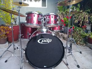 drumset with all hardware and cymbals for Sale in Santa Cruz, CA
