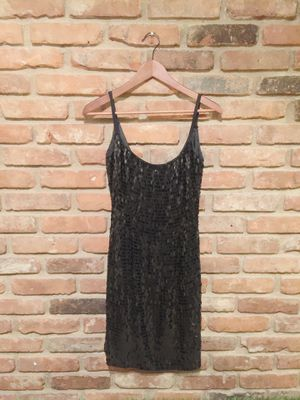 Women's black sequins mini spaghetti strap dress for Sale in Willoughby, OH
