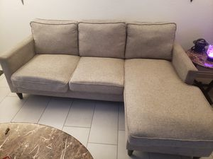 ** SALE PENDING **Grey fabric couch for Sale in Imperial Beach, CA