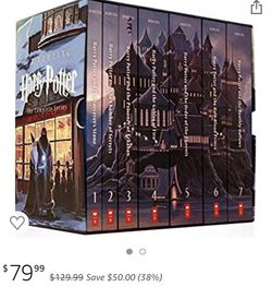 Harry Potter Complete Book Series Special Edition Boxed Set for Sale in Chicago,  IL