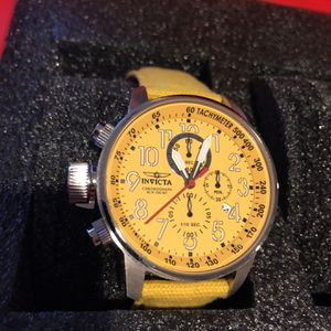 Invicta Yellow On Yellow Watch for Sale in Las Vegas, NV