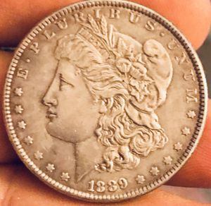 1889-P Nice grade Morgan Silver dollar for Sale in Ponte Vedra Beach, FL
