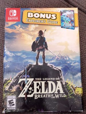 Nintendo Switch Zelda Breath of the Wild Game for Sale in Tolleson, AZ
