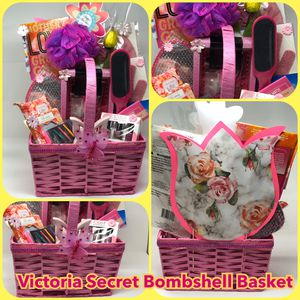 Victoria Secret Bombshell Spa Basket for Sale in Baltimore, MD