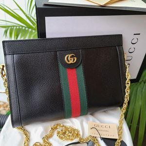 Small Chain Gucci bag Ophidia black leather for Sale in Allentown, PA