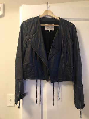 Leather Moto styled leather jacket for Sale in Arlington, VA