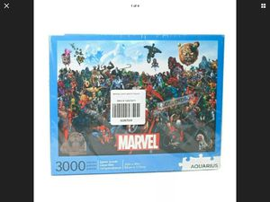Marvel Cast Puzzle 3000 Pieces Spider-Man Deadpool Thor Thanos Captain America for Sale in Long Beach, CA