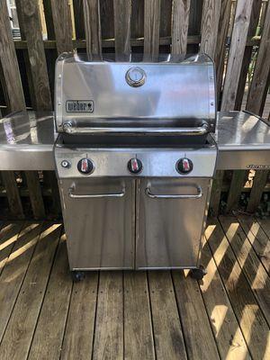 Weber Genesis- Stainless steel for Sale in Herndon, VA