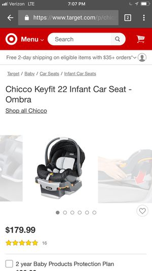 NEW UNOPENED Chicco KeyFit - Rear facing infant car seat w/ base for Sale in Los Osos, CA