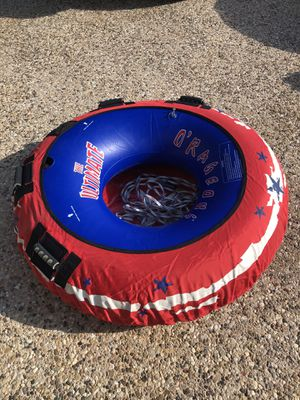 Boat towable tube with tow rope for Sale in Salado, TX