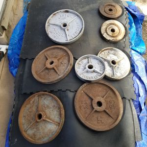 355 pound of weights for .62 a pound /$220 for Sale in Pleasanton, CA