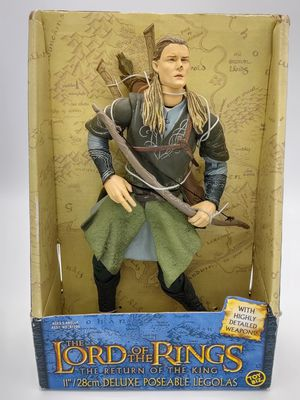 "Lord of the Rings LOTR The Return of the King 11"" Deluxe Poseable LEGOLAS NEW for Sale in Osseo, WI"