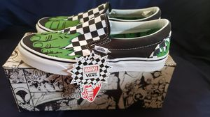 NWT/Box Marvel Incredible Hulk Slip On Vans for Sale in Fountain, CO
