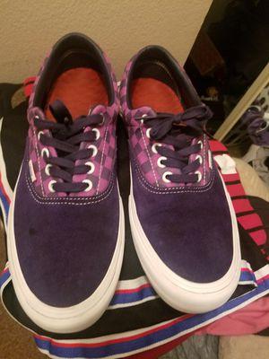 Vans shoes, purple Baker Kader size 11 for Sale in Stuart, FL