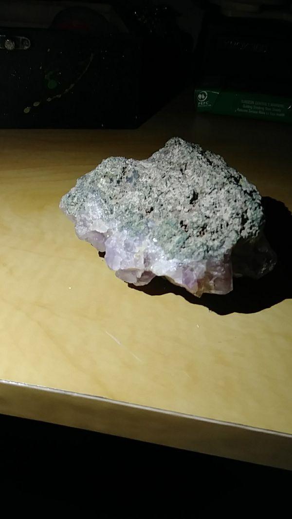 Crystal-- amethyst