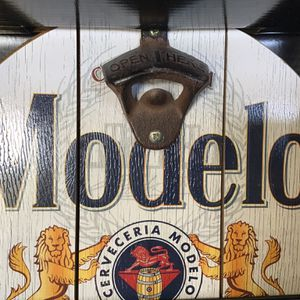 Modelo Beer Cap Catcher Bottle Opener / Wall Sign (New in Box) for Sale in Goodlettsville, TN