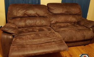 Couches pair( recliners, usb charger) for Sale in Abilene, TX