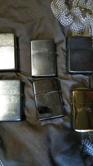 6 Zippos for $20 for Sale in Seattle, WA