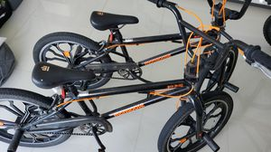 Mongoose Rebel kids BMX bike 20-inch mag wheels ages 7 - 13 black ($ 98,00 each) for Sale in Bal Harbour, FL