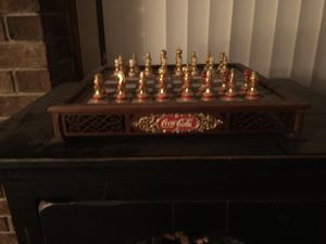 Classic Coca Cola chess set with all pieces for Sale in Columbus, OH