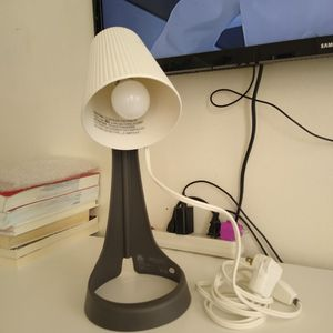 Ikea lamp with bulb like New!! Only 5 dollars!! Big big deal for Sale in Queens, NY