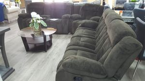 Very comfy living set 3pc sofa loveseat and chair. Just $29 down and take it home today and pay it later for Sale in Las Vegas, NV