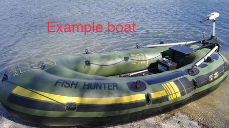 Sevylor Fish Hunter 360 Fishing Boat Raft for Sale in Oregon City,  OR