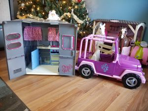 Og doll jeep and camper for Sale in Gambrills, MD
