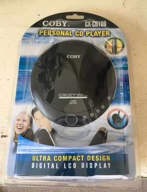 Coby personal CD player brand new in package for Sale in Edmonds, WA