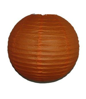 """Wholesale Lot 24 Pack - Party Paper Lantern-Round 12""""-Luau Supplies- Oriental/Chinese Lamps - Orange for Sale in Kissimmee, FL"""