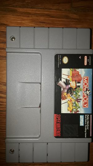 Super nintendo monopoly game for Sale in Cleveland, OH