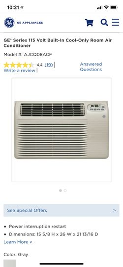 GE Room Air conditioner *new* for Sale in Arvada,  CO