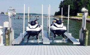 Dual jet ski boat lift for Sale in Wilton Manors, FL