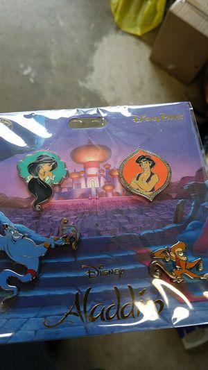 Disney Aladdin collectible pin set new 10$ for Sale in Pico Rivera, CA