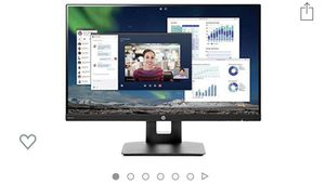 """24"""" HP flat screen computer monitor for Sale in Houston, TX"""