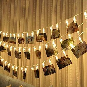 17 ft lomg Led photo clip string light set for Sale in Waukegan, IL