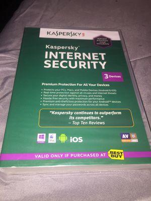Kaspersky internet security DVD for Sale in Tampa, FL
