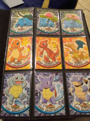 Topps Pokemon Cards Series 1,2,&3 Complete Sets for Sale in Milton, WA