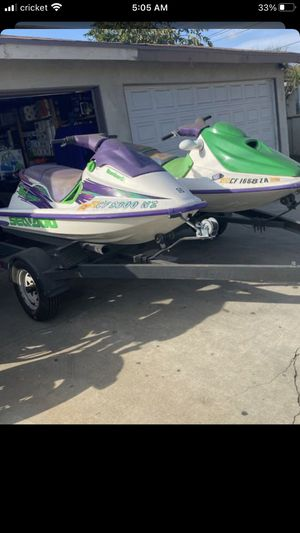 SEADO JETSKI COMES WITH TRAILER CLEAN TITLE for Sale in Los Angeles, CA
