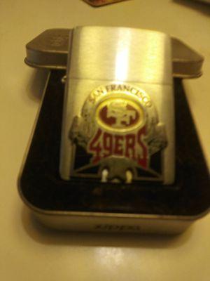 49'ers Zippo Lighter for Sale in Fresno, CA